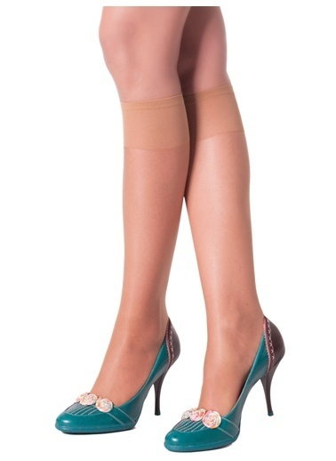 Pierre Cardin 9 Çift Paket Süper İnce Dizaltı Çorap Ten